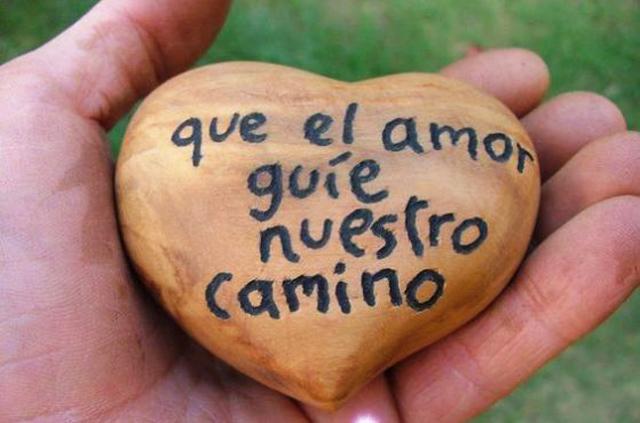 que el amor guié nuestros corazones